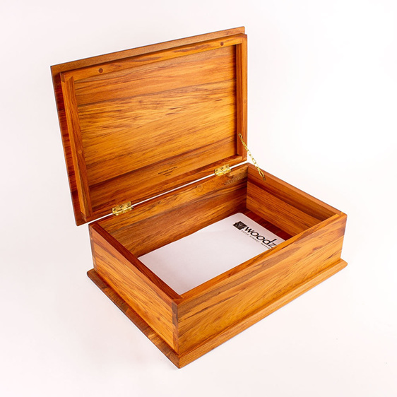 Deeds Box with Hinged Lid