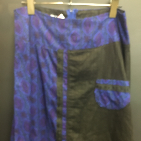 Deep Blue Skirt - Adult Size 10