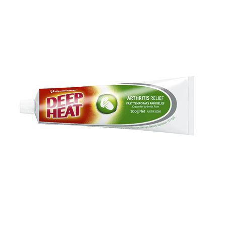 DEEP HEAT ARTHRITIS CREAM 100G