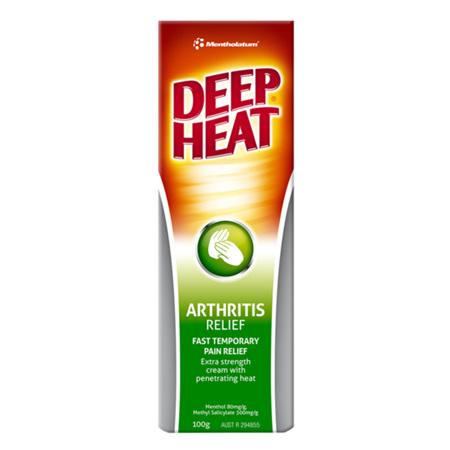 Deep Heat Arthritis Relief Cream 100G