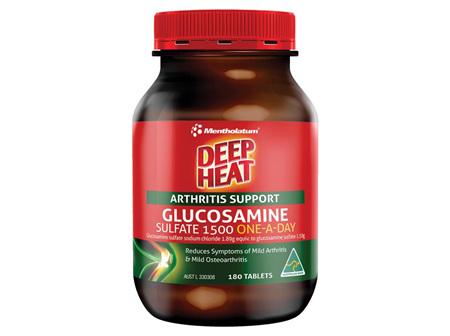 Deep Heat Glucosamine 1500 180 Tablets