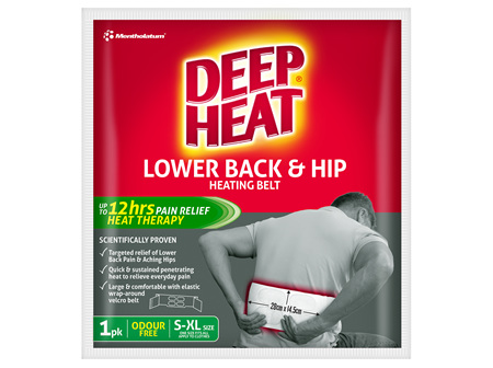 Deep Heat Lower Back and Hip Patch