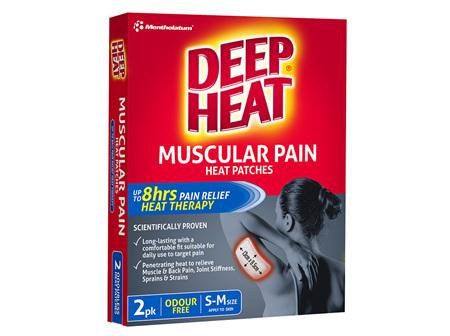 Deep Heat Muscular Pain Heat Patches 2 Pack