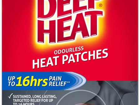 Deep Heat Muscular Pain  Patches 2pk