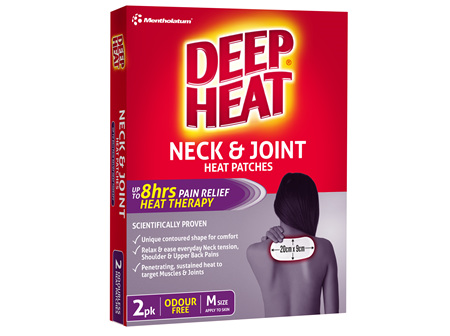 Deep Heat Neck and Joint Patch