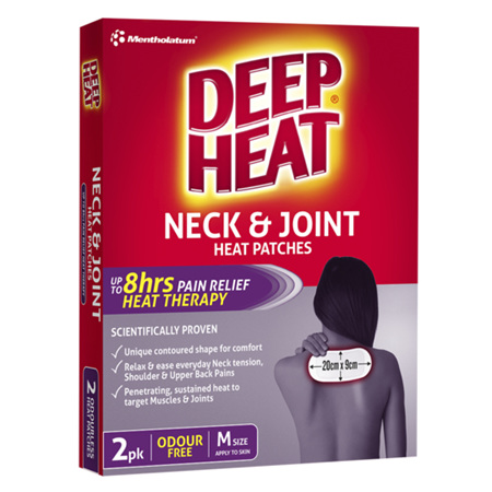 Deep Heat Neck & Joint Patches, 2 Pack