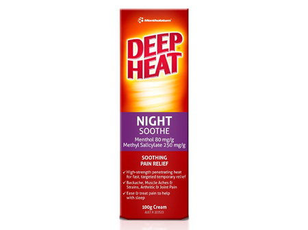 Deep Heat Night Soothe 100g