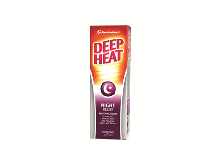 Deep Heat Night Time Strength 100g