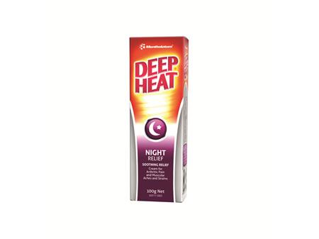 Deep Heat Night Time Strength 100g