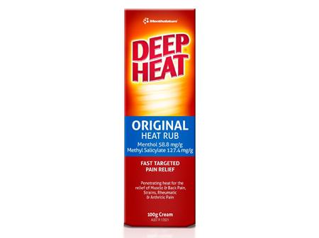 Deep Heat Original Heat Rub 100g