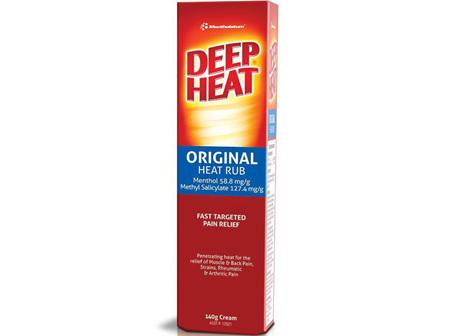 Deep Heat Original Heat Rub 140g