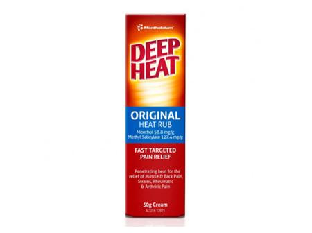Deep Heat Original Heat Rub 50g