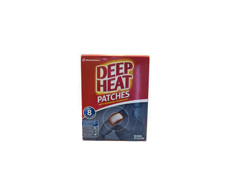 Deep Heat Patches 9.5cm x 13cm