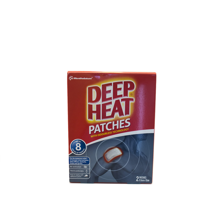 Deep Heat Patches 9.5cm x 13cm