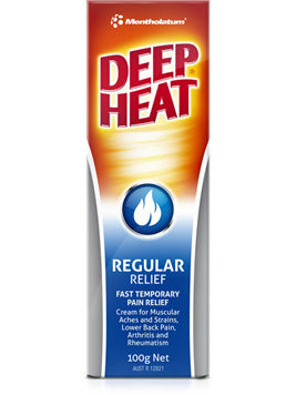 Deep Heat Regular Relief  50g 100g in photo