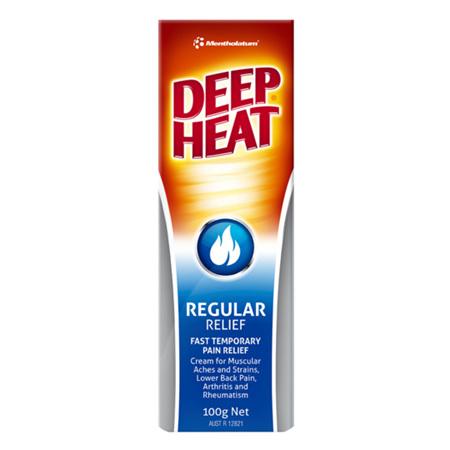 Deep Heat Regular Relief Cream 100G