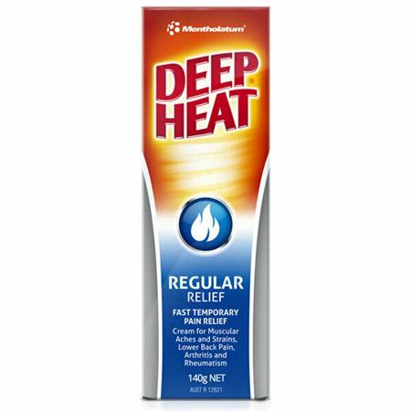 Deep Heat Regular Relief Cream 140G