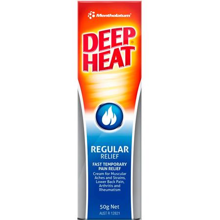 Deep Heat Regular Relief Cream 50G