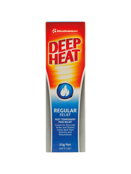 Deep Heat Regular Relief Cream 50g