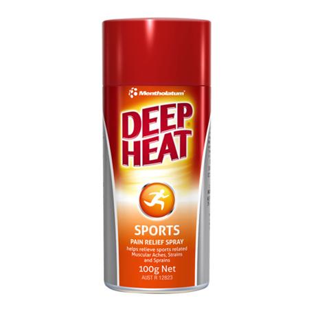 Deep Heat Sports Pain Relief Spray 100G