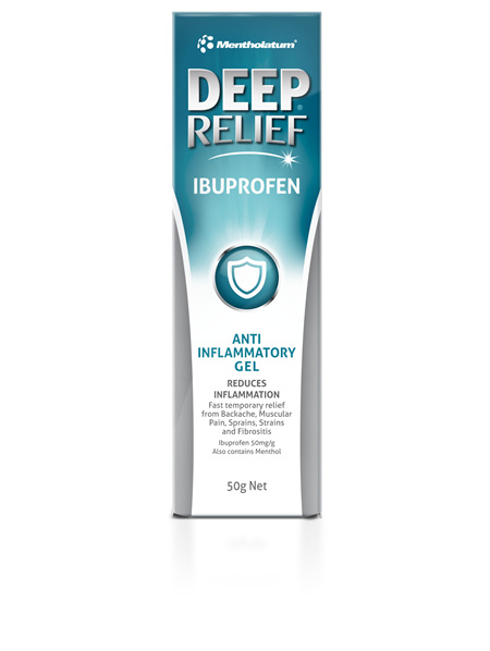 Deep Relief Ibuprofen Gel 50g