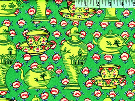 Delft Pots Green 102