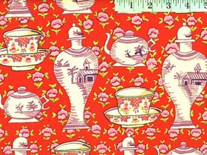 Delft Pots Red 103