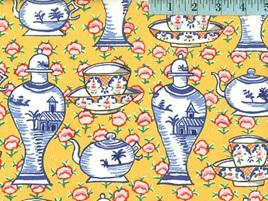 Delft Pots Yellow 104
