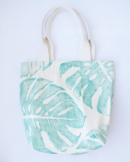 Delicious Monster Tote with Webbing Handle