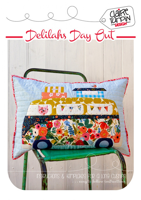 Delilahs Day Out Cushion Pattern