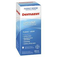 Demazin Clear Syrup 100Ml