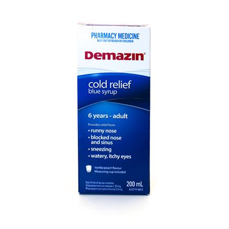 Demazin syrup
