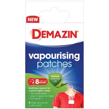 Demazin Vapourising Patches 6 Pack