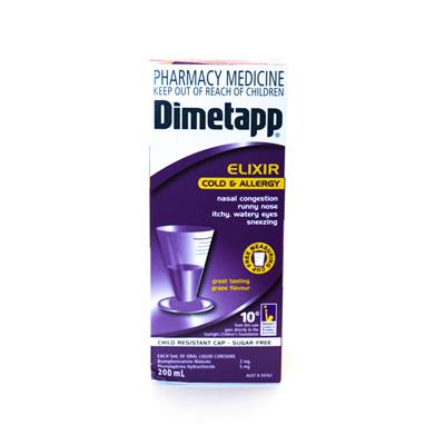 Dimetapp Cold & Allergy
