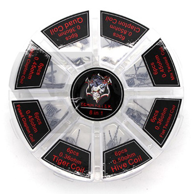 Demon Killer 8 in 1 Variety Coil Pack