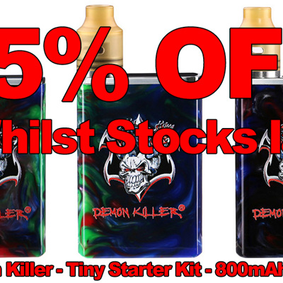Demon Killer - Tiny Starter Kit - 800mAh Resin