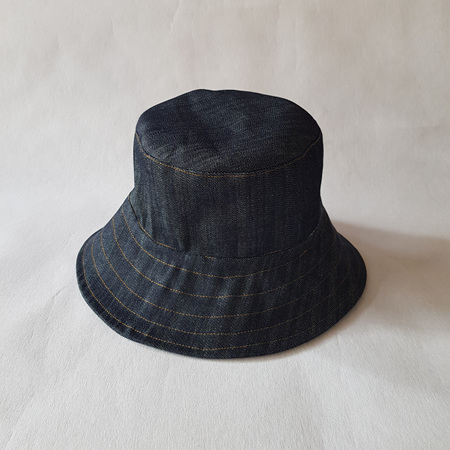 Denim Bucket Hat - Adult size XL