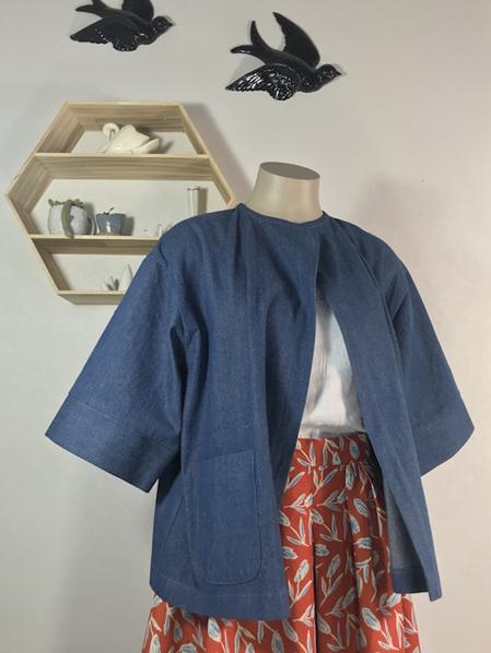 Denim painters jacket