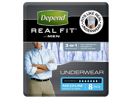 DEPEND Realfit Men Med 8
