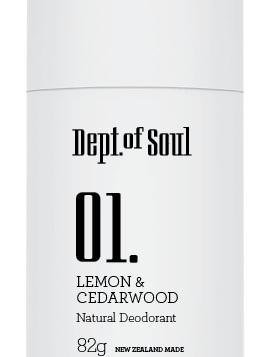 Dept of Soul Deodorant Stick 01 Lemon & Cedarwood