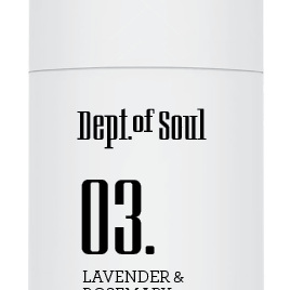 Dept of Soul Deodorant Stick 03 Lavender & Rosemary