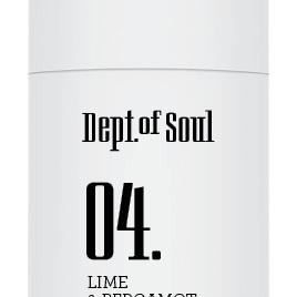 Dept of Soul Deodorant Stick 04 Lime & Bergamot