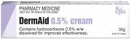 DermAid 0.5% hydrocortisone Cream - 30g