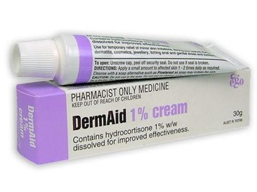 DermAid 1% Hydrocortisone Cream