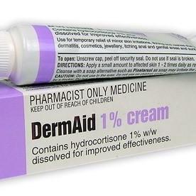 DermAid 1% Hydrocortisone Cream
