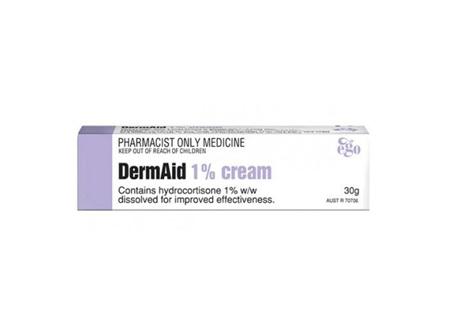 DermAid Cream 1% 30g