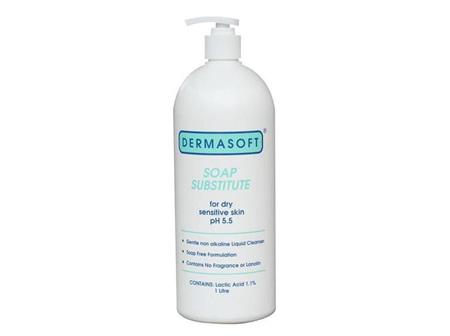 Dermasoft Soap Substitute 1L