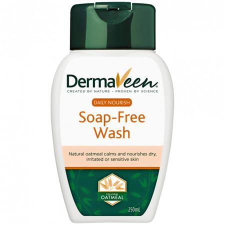 DermaVeen Daily Nourish Soap-Free Wash 250mL