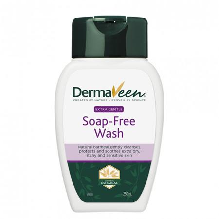 DermaVeen Extra Gentle Soap-Free Wash 250mL