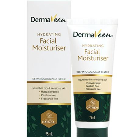 DermaVeen Hydrating Facial Moisturiser 75mL